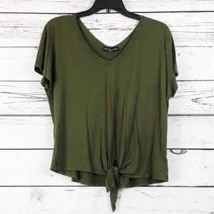 Kim & Cami Tie front tee From Bloomingdales A04